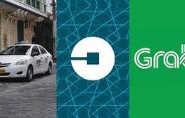 Siết quản lý xe hợp đồng dưới 9 chỗ, taxi Uber và Grab
