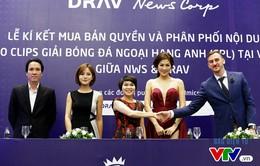 DRAV sở hữu bản quyền video clips Ngoại hạng Anh trên internet tại Việt Nam