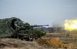 Quân đội Nga tiến hành tập trận ở Viễn Đông
