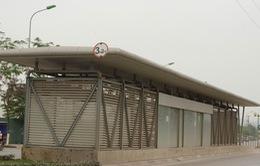Bàn giao hệ thống nhà chờ xe bus nhanh BRT để vận hành vào cuối năm