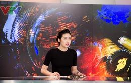 Á hậu Dương Tú Anh chọn VTV24 vì môi trường năng động