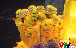 """Ăn theo cơn sốt Pokemon, Pikachu """"ngập"""" phố Trung thu"""
