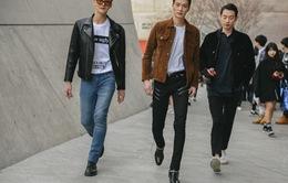 """""""Soi"""" thời trang đường phố cực chất của giới trẻ Hàn Quốc"""
