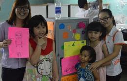 Lớp học nghệ thuật miễn phí dành cho trẻ em nghèo TP.Hồ Chí Minh