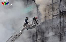 Khởi tố vụ cháy quán karaoke trên phố Trần Thái Tông làm 13 người chết