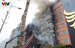 Kết luận điều tra vụ cháy quán karaoke trên phố Trần Thái Tông khiến 13 người thiệt mạng