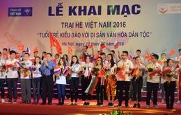 Khai mạc Trại hè Việt Nam 2016 - Tuổi trẻ kiều bào với di sản văn hóa dân tộc