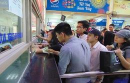 Hành khách cần cẩn trọng khi mua vé tàu xe  dịp Tết