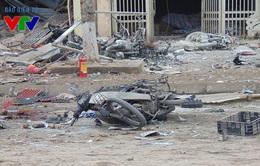 Giữ nguyên hiện trường sau vụ nổ tại Văn Phú, Hà Đông để phục vụ điều tra