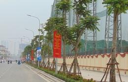 Đường Lê Trọng Tấn gấp rút hoàn thành trước ngày thông xe