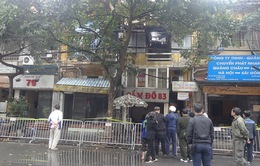 Cháy lớn tại phố Phùng Hưng, Hà Nội: Cơ bản đã được khống chế