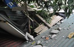 Hà Nội: Đình chỉ công trình xây dựng làm rơi bê tông vào nhà dân