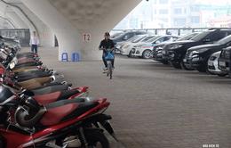 Bãi gửi xe mới của bệnh viện Bạch Mai - Bước đầu giảm tình trạng quá tải