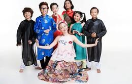 Tóc Tiên nhí nhố cùng thí sinh Vietnam Idol Kids trước chung kết