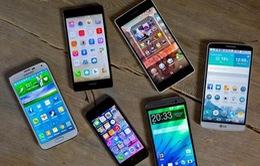 Doanh số smartphone năm 2015 lập kỷ lục với 1,43 tỷ máy