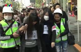 Nhật Bản diễn tập nhân Ngày Thế giới nâng cao nhận thức sóng thần