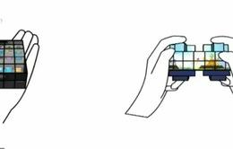 Cubimorph – Điện thoại có khả năng biến hình