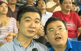 ĐT Việt Nam nhận được sự cổ vũ nhiệt tình từ người hâm mộ