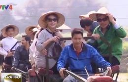 Du lịch vùng đồng quê hút khách