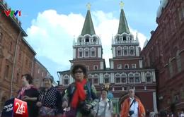 """Ứng dụng """"ăn theo"""" Pokémon GO thu hút khách du lịch tại Nga"""