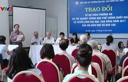 Xã hội đang có nhìn nhận chưa đúng về mục tiêu của kỳ thi THPT Quốc gia