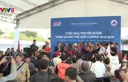Các đội đua thuyền buồm vòng quanh thế giới Clipper cập cảng Đà Nẵng