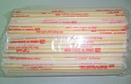 Làm rõ thông tin 4 mẫu đũa dùng một lần có chất độc hại