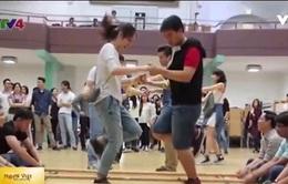 Sinh viên Việt Nam ở Đức tham dự Lễ hội trò chơi dân gian