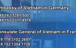 Khuyến cáo công dân Việt Nam tại Đức sau vụ tấn công bằng súng