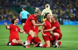 Chung kết bóng đá nữ Olympic Rio 2016: ĐT Đức lên ngôi