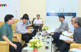 Đoàn công tác Chính phủ chỉ đạo chống lũ tại miền Trung