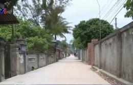 Nghệ An: Đường nông thôn mới vừa làm xong đã hỏng