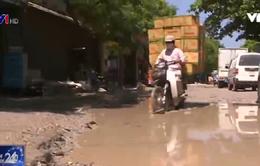 Hà Nội: Người dân khốn khổ vì đường xuống cấp nghiêm trọng
