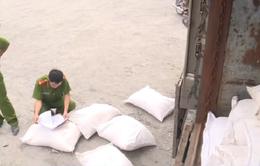 Bắt giữ gần 40 tấn đường nhập lậu tại TP.HCM