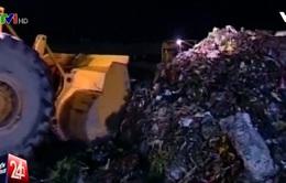 Khu liên hợp Đa Phước đề nghị ngưng tiếp nhận 2.000 tấn rác/ngày