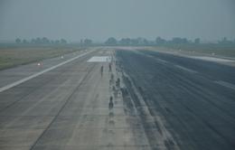 Sửa chữa 1 đường băng tại sân bay Tân Sơn Nhất tới 5h ngày 21/7