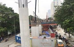 Dự án đường sắt đô thị Nhổn - ga Hà Nội  chậm tiến độ gây bức xúc