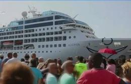Chuyến thăm lịch sử Cuba của du thuyền Mỹ