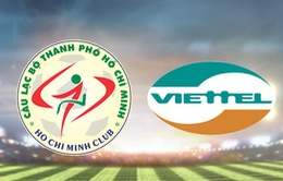 Viettel giành chiến thắng 2- 0 ngay trên sân của CLB TP Hồ Chí Minh