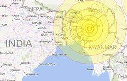Động đất 6,7 độ Richter tại Ấn Độ