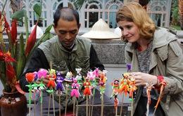 Độc đáo chợ Tết tại khách sạn Metropole Hà Nội