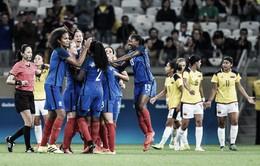 VIDEO Bóng đá nữ Olympic: Pháp đại thắng Colombia bằng vũ khí sút phạt!