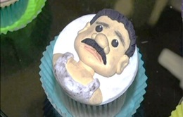 Bánh cupcake hình trùm ma túy El Chapo gây sốt ở Mexico