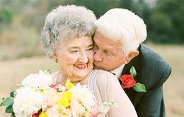 Ngẩn ngơ với bộ ảnh tuyệt đẹp của cặp đôi yêu nhau hơn nửa thế kỷ