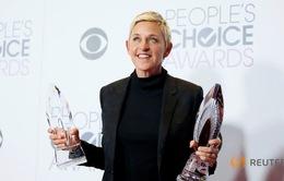 MC Ellen DeGeneres thấy lạ lẫm khi được ghi nhận về lòng tốt