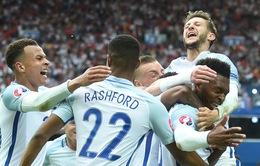 Sturridge giúp tuyển Anh làm nên lịch sử tại EURO 2016