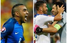 Ấn tượng lượt trận đầu tiên EURO 2016: Payet chói sáng, Italy già dơ