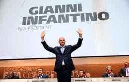 Ông Gianni Infantino trở thành Chủ tịch FIFA sau cuộc bầu cử nghẹt thở