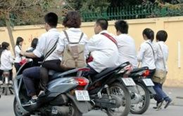 Gần 80% sinh viên đi xe máy không có giấy phép lái xe