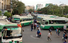 TP.HCM tăng cường hơn 1.000 chuyến xe bus dịp Tết Dương lịch
